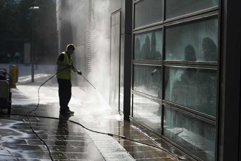 power wash and deep cleaning services
