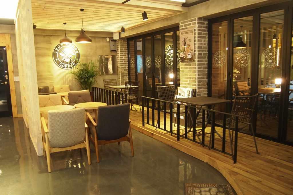 cafe-restaurant cleaned