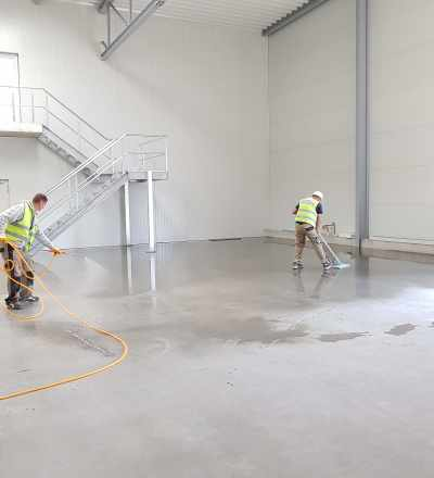 Construction & Post Construction Cleaning with MCA Group