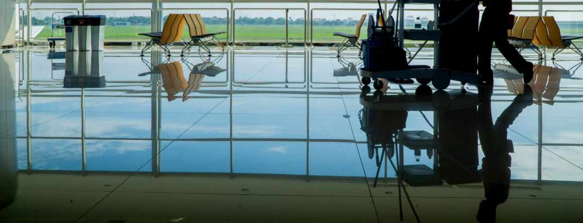 floor cleaning in office building - janitorial service company GTA