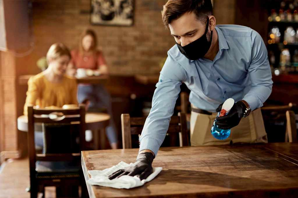 restaurant table cleaning - restaurant cleaning services GTA