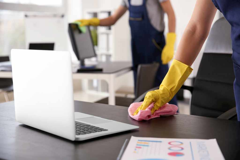 office cleaning services by MCA group