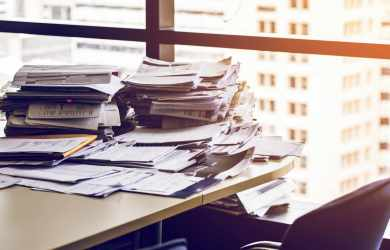 How a Clean and Organized office can boost productivity