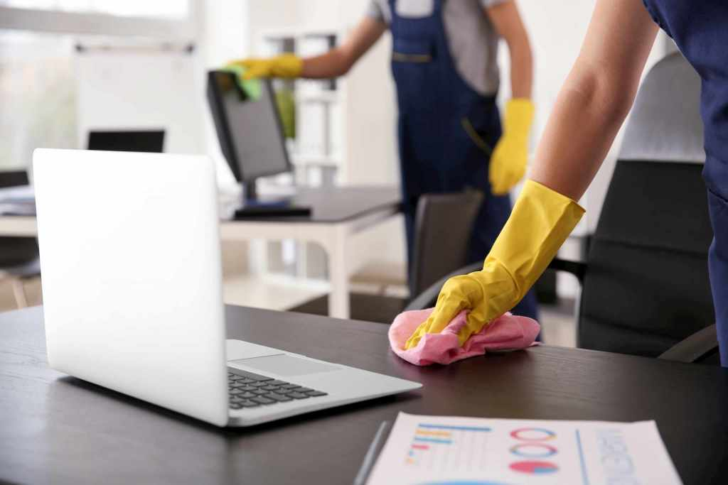 office disinfection - commercial cleaning services toronto