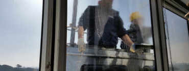 Commercial Building Window Cleaning by MCA Group North York