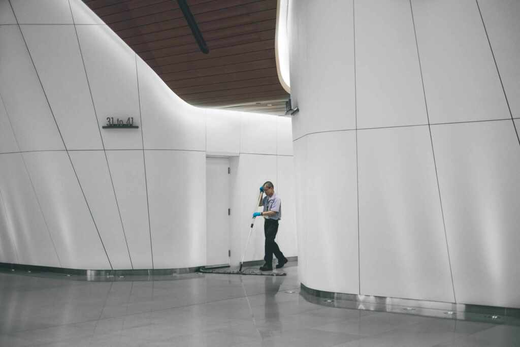 Commercial Building Janitorial Services by MCA Group Vaughan