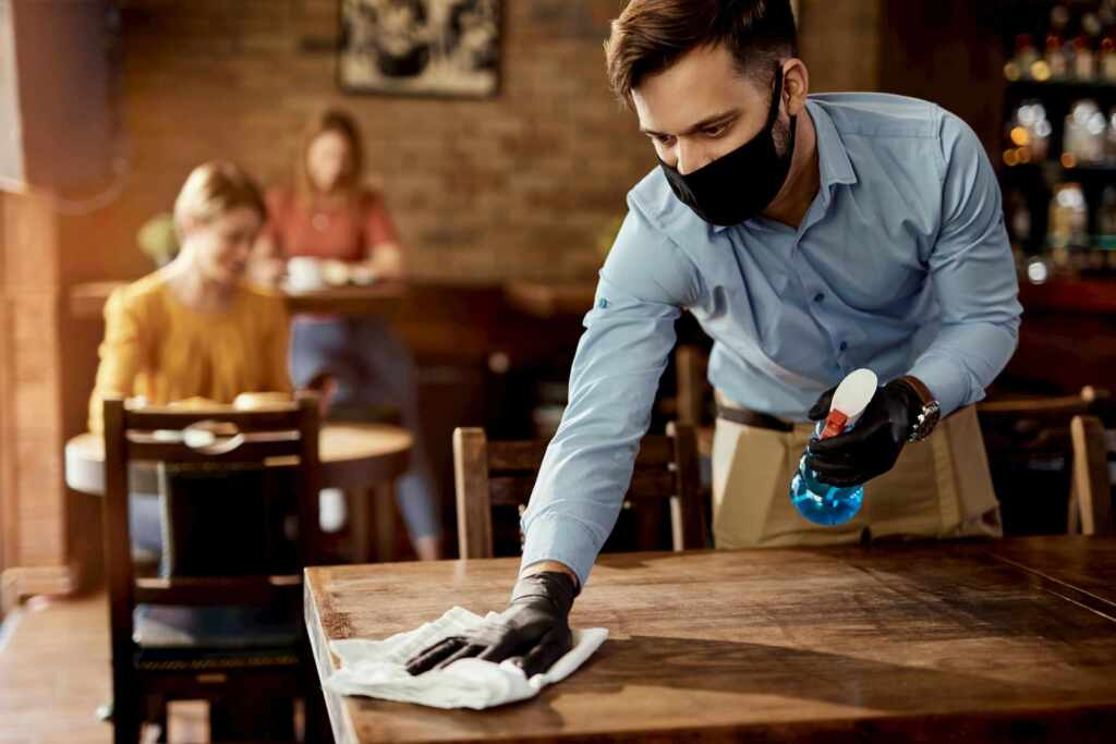 Restaurant Table Cleaning - Restaurant Cleaning Services Stouffville