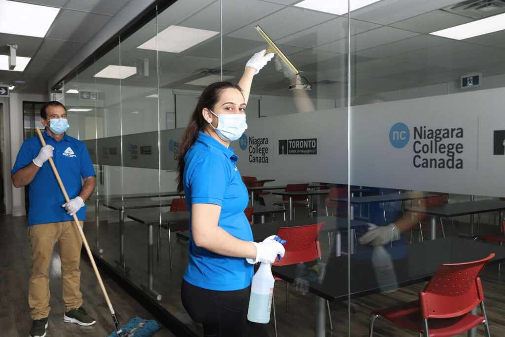 Janitorial Services & Office Cleaning in Hamilton