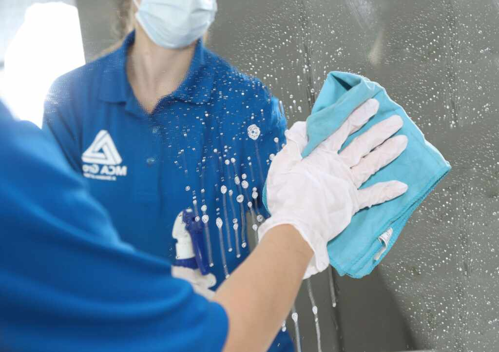 Commercial Building Mirror Cleaning Services Newmarket